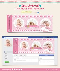 New Arrival Cute Baby Facebook Timeline Cover - Facebook Timeline Covers Social Media