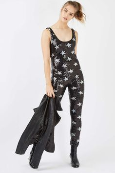 76a670823254   Star Sequin Catsuit by Jaded London - Playsuits and Jumpsuits - Clothing  - Topshop Europe