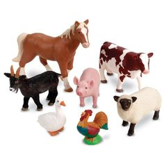 Blocks- farm animals