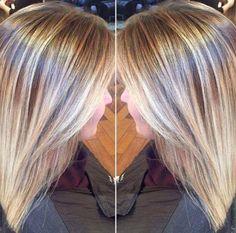 Blonde Summer Aveda Balayage Hair