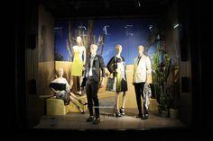 ETRO windows at Bond street 2013, London - Retail Design Blog» visual merchandising