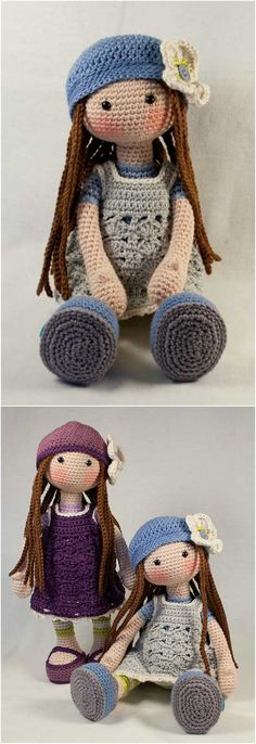 Lilly Doll from Etsy; she looks quite like Molly Doll - Amigurumi - Free Crochet Pattern