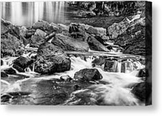 - Webster Falls Canvas Print by Garvin Hunter Black And White Canvas, Black And White Prints, Canvas Art For Sale, Canvas Art Prints, Natural World, Waterfall, Explore, Gallery, Naturaleza