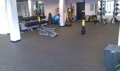 Inspires workout floor!  Functional training at its finest.