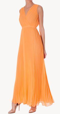 Alquiler Vestido plisado | Halston Heritage | 24FAB | 393