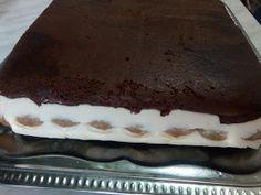Hellena ...din bucataria mea...: Tort cu mousse de ciocolata alba - insiropat cu ciocolata calda Tiramisu, Ethnic Recipes, Food, Pies, Essen, Meals, Tiramisu Cake, Yemek, Eten