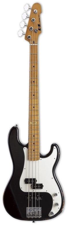 ESP E-II VINTAGE-4 PJ Bass Guitar - more on www.guitaristica.org #bassguitar #guitars #guitaristica