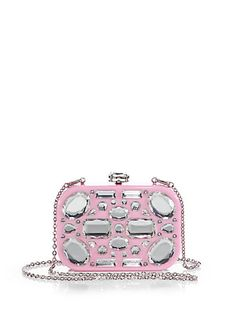 531b352d3978 Miu Miu Crystal Minaudiere with Chain Strap Shoes | Footwear Beautiful Bags,  Clothing Items,