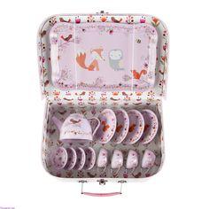 Zestaw piknikowy w walizeczce Woodland Friends Sklep Tender&Cute - Metoo & A Little Lovely Company