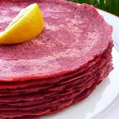 Easy Gluten-free Beet Wraps by veganmagic