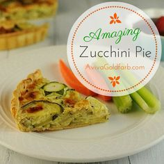 Amazing Zucchini Pie - People go absolutely CRAZY for this recipe, including kids! Works for breakfast, lunch, dinner or a side dish.