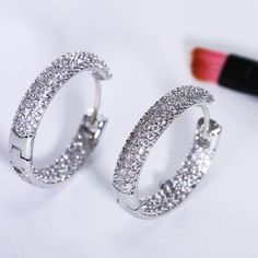 Limited Offer $11.82, Buy Interesting and nice hoop earrings for women online shopping india Earings fashion jewelry oorbellen