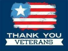 Happy Veteran's day to all who have served.  God Bless.