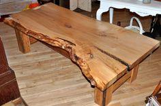 Maple Slab Coffee Table. $5,250 on GoAntiques