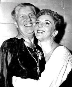 Maria Von Trapp and Broadway's Maria, Mary Martin