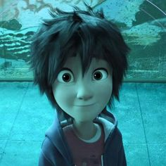 """"""" I am cute, I am adorable, and this face will be the death of you. """" lololol XD. - Hiro Hamada #RealHiroHamada"""