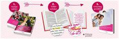 Personifizierte Romane, individuell angefertigtes Buch