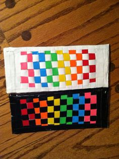 Weaving Duct Tape Wallet | 101 Duct Tape Crafts