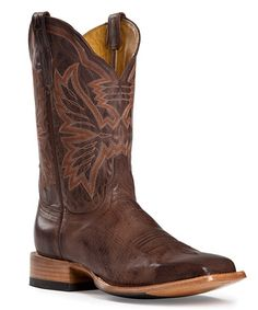 Love this Chocolate Mad Dog Leather Cowboy Boot by CINCH on #zulily! #zulilyfinds