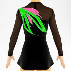 Rhythmic Gymnastics Leotard Ice Figure Skating Dress