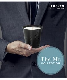 50 Percent off Mr. Scented Candles for Father's Day Shop www.YummiCandles.com