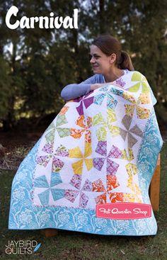 Carnival Quilt Pattern Jaybird Quilts - Fat Quarter Shop