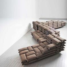KALAB by Ezri Tarazi at Paradigma Gallery, very similar idea to that I had for my retail store project at university.