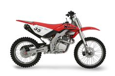 What a beauty. Nothing like a red dirt bike... the other colors just don't compare.