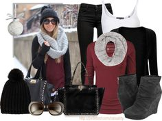 """""""Winter Casual Outfit"""" by casuality on Polyvore"""