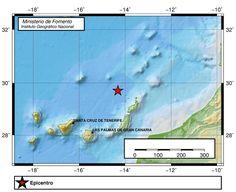 Terremoto norte Canarias, 28 septiembre Atlántico Canarias
