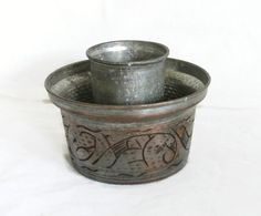 Personal drink COOLER vintage copper tin plated by cabinetocurios, $20.00