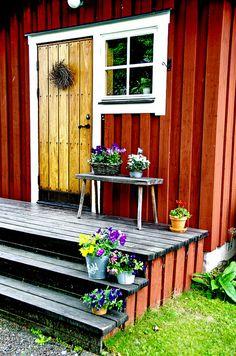 My tiny house porch