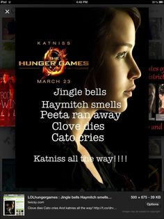 funny hunger games pictures | The Hunger Games Funny jingle bells version of hunger games