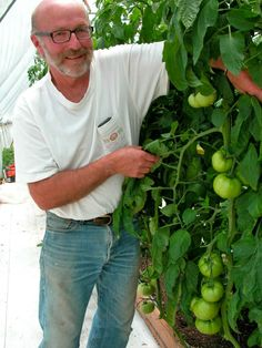 Tom Rumery, Cofounder of Osage Gardens in New Castle, CO ~Repinned by www.BetterLifeTransitions.com