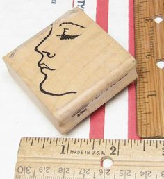 PORTRAIT BY STAMP OASIS  RUBBER STAMP #StampinUp #rubberstamp Oasis, Stampin Up, Portrait, Crafts, Ebay, Things To Sell, Men Portrait, Portrait Illustration, Crafting