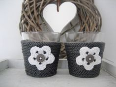 Crochet: candle lights