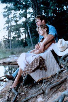 "Sandra Bullock & Harry Connick, Jr. in ""Hope Floats"""