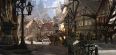 Grand Square My concept-artworks for the game project ( LionHeart ) © Loc&Key Productions. more fantasy times. W.D. 2016