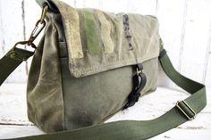 MILITARY Bag Mini Messenger US WWII Era by 1770mercantile on Etsy
