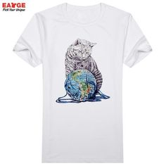 [EATGE] 2016 Brand Men T Shirt New Hand Drawn Japanese Lonely Soldier Warrior Samurai T-shirt Casual White Short Sleeve Tshirt