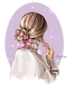 Cute Cartoon Girl, Cartoon Art, Illustrator, Glamour Decor, Megan Hess, Girly Drawings, Fashion Wall Art, Digital Art Girl, Art Graphique