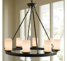 electric candle chandelier lighting - Google Search