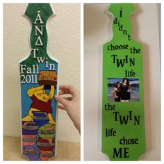 The most adorable whinnie the pooh paddle!!!! So perfect for these twins!!