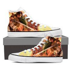 Attack On Titan Levi 3D Attack On Titan Shoes