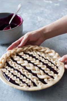 Braided Pie Crust Tutorial