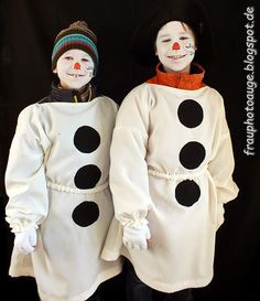 Augenblick mal ....: Schneemann Kostüm