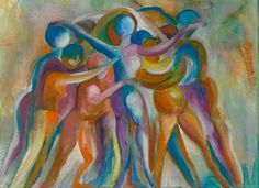 Biodance...Biodanza....  Together we are one soul  Juntos somos una misma alma