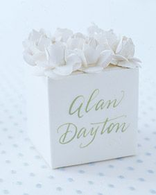 Classic white wedding decorations and favors are a beautiful and simple way to infuse elegance into any room or on any table. Here are some of our favorite white wedding decorations and favors.
