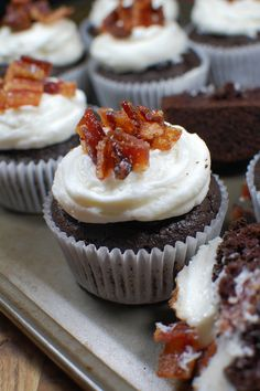 Get cupcake drunk with these super moist, sweet, salty and boozy combo ...