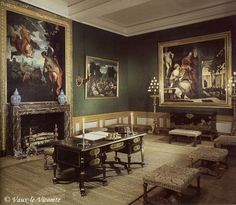 """Minister's Ante Room restore to c. 1661 at veau le vicomte chateau """"ante room"""" - Google Search"""